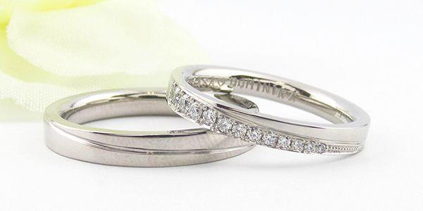 結婚指輪の仕上がりのチェックとお引き渡し
