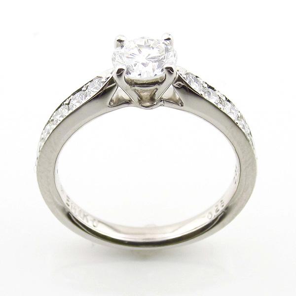 お客様の声《婚約指輪のリフォーム》大林賢一郎様 恵美子様