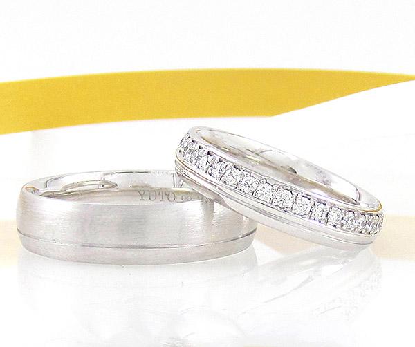 お客様の声「ダリアスの結婚指輪」西川様ご夫妻