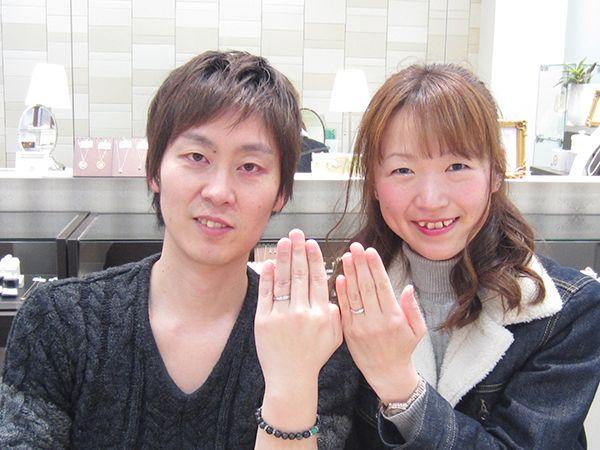 リフォームで婚約指輪とダリアスの結婚指輪
