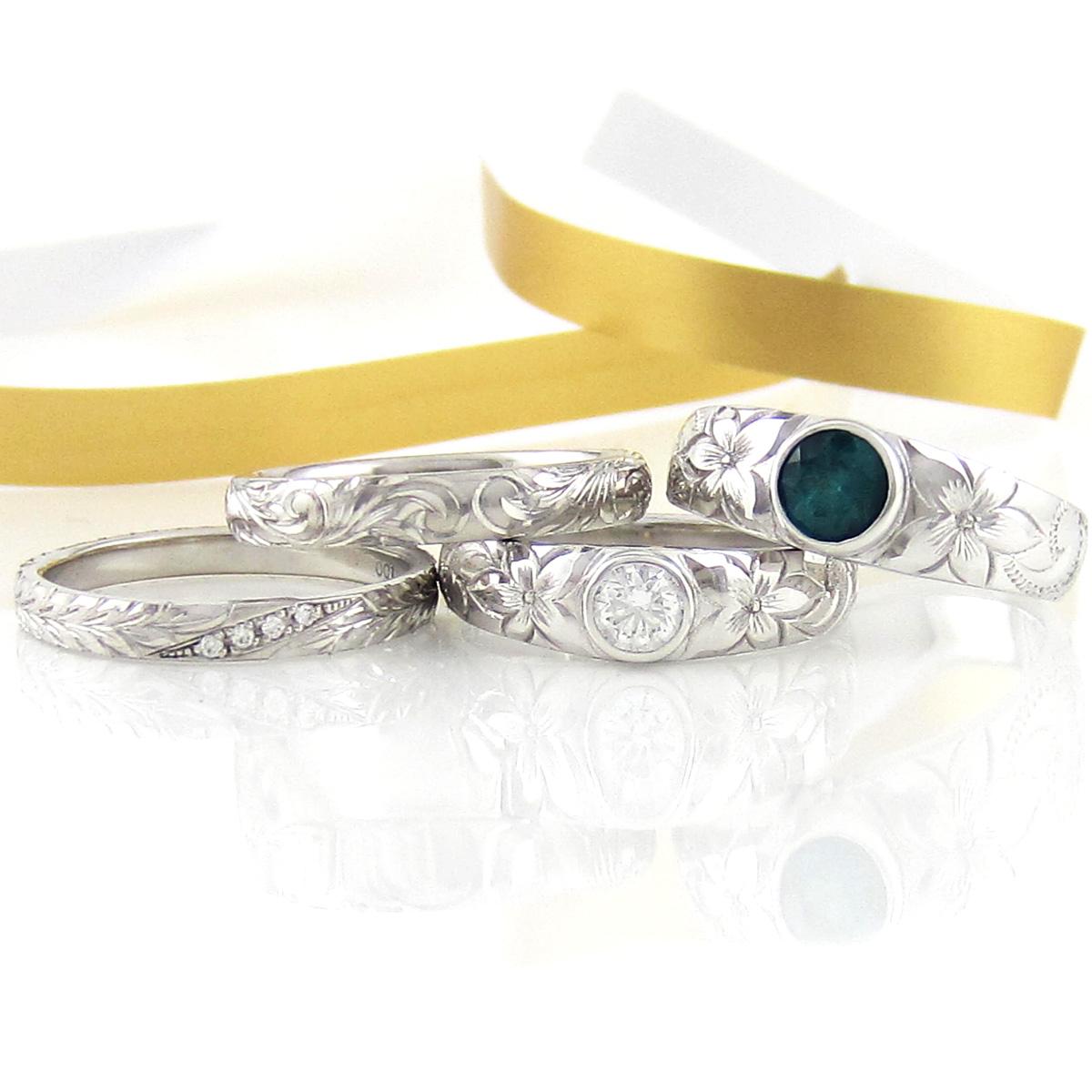 指輪のモチーフのデザインの意味や種類についての由来